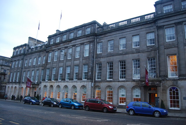 Apex Hotel Edinburgh Restaurant Menu