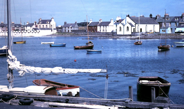 Harbour view at Isle of Whithorn 1972