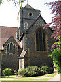 TQ3263 : St Augustine, South Croydon: tower and north transept by Stephen Craven