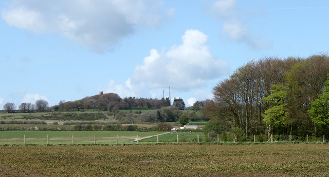 2011 : Fields and view from the lane east of Cranmore