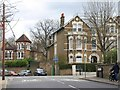 TQ3775 : Junction, Tressillian Road, SE4 by Derek Harper