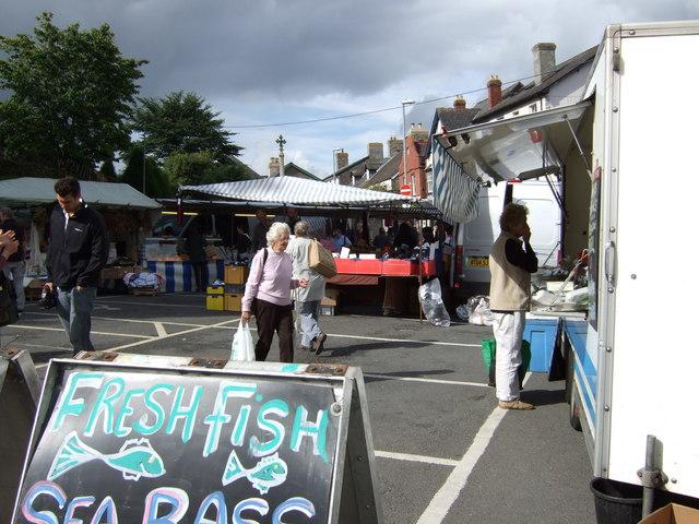 Hay-on-Wye Market Day