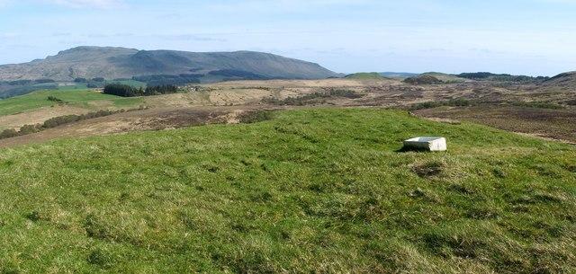 Summit of Little Caldon Hill