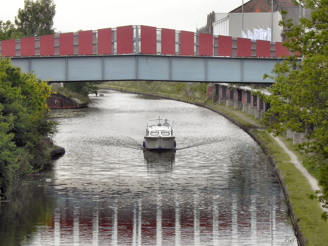 Bridgewater Canal, Old Trafford Footbridge