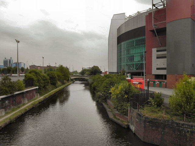 Bridgewater Canal, Old Trafford Football Stadium
