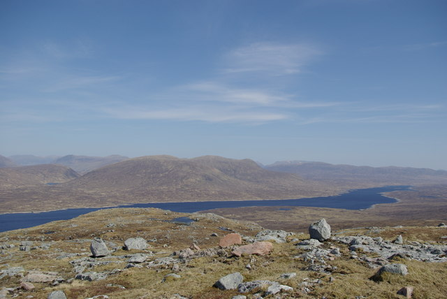 View from Meall Bhalach