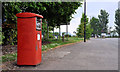 J3477 : Metered-mail box, Belfast by Albert Bridge