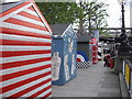 TQ3080 : Beach Huts on Queens Walk by PAUL FARMER