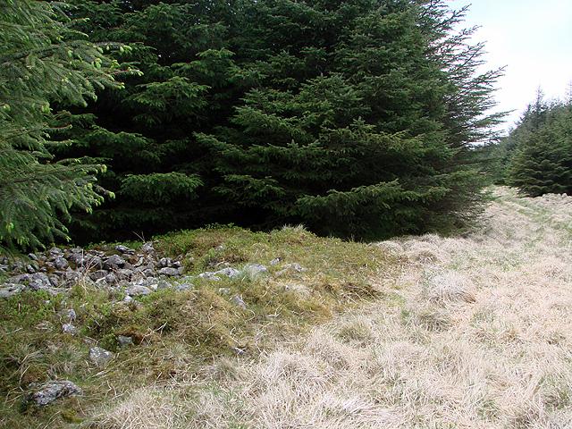 Cairn at Esgair y Ffordd