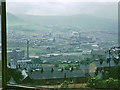 SD9702 : View over Mossley, 1970 by Robin Webster