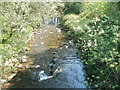 ST2890 : Bettws Brook flows away from Lambourne Way, Newport by Jaggery