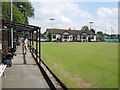 SJ9287 : Hazel Grove Bowling and Tennis Club by Peter Turner