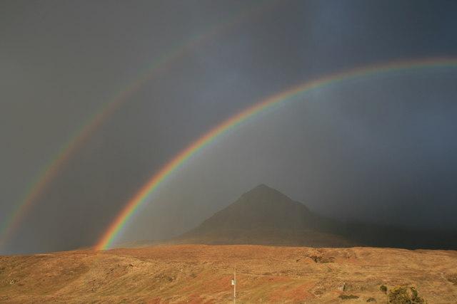 Rainbows over Sgurr nan Gobhar