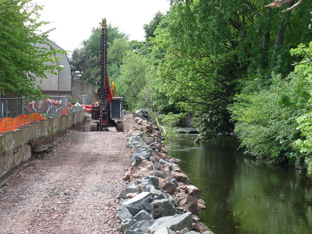 Water of Leith Flood Prevention Works