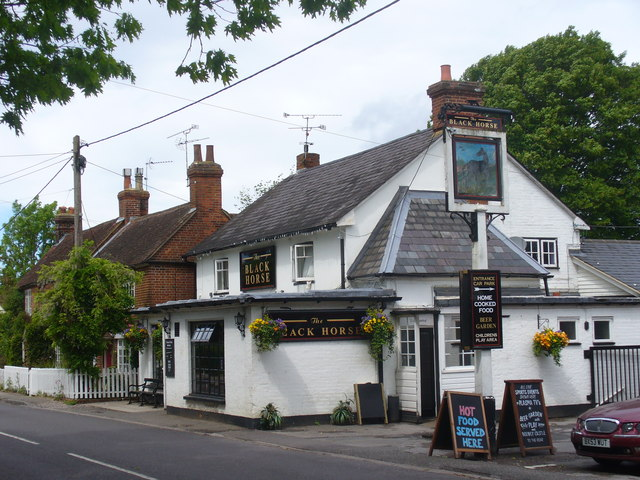 The Black Horse, Crookham Village