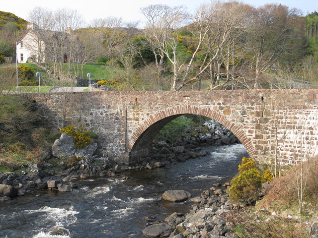 Old Bridge over the River Inver, Lochinver