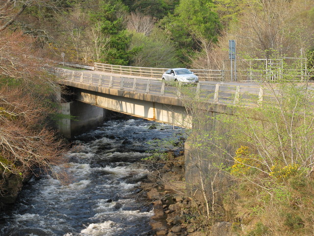 New Bridge over the River Inver, Lochinver