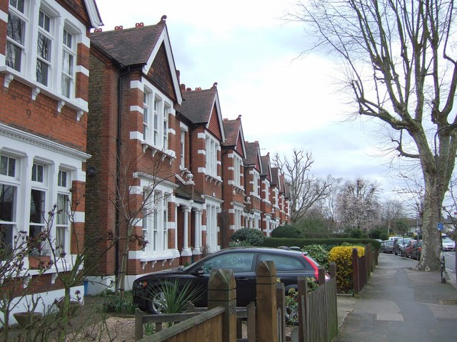 Houses on Turney Road, SE21