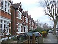 TQ3274 : Houses on Turney Road, SE21 by Derek Harper