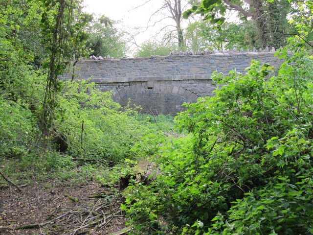 Former canal bridge near Vobster