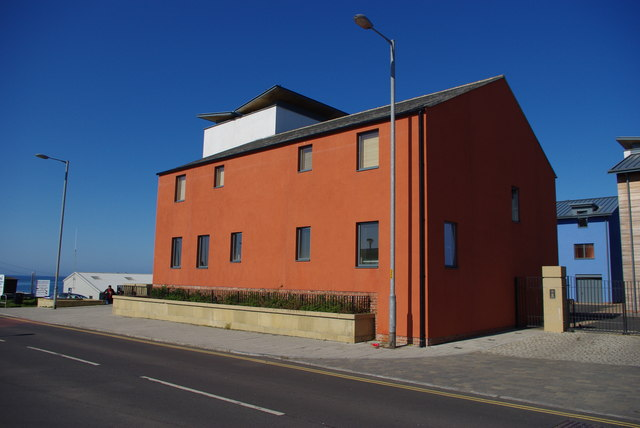 Rear of The Viking, Seahouses