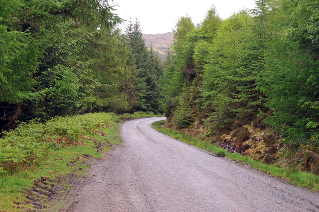 Road from Arnisdale to Glenelg