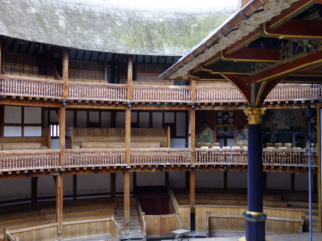 Inside Shakespeare�s Globe Theatre