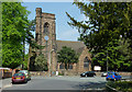 SO8996 : St Philip's Church at Penn Fields, Wolverhampton by Roger  Kidd