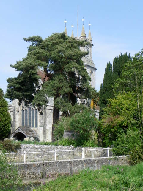 The Church of St John the Baptist, Tisbury