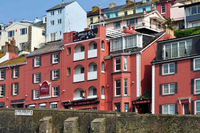 Harbourside houses