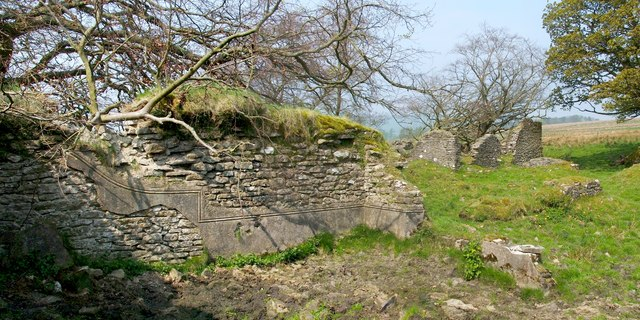The ruins of Garmore: central southern building