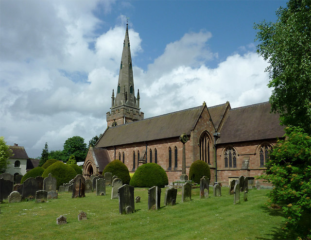 St Benedict Biscop Church in Wombourne, Staffordshire