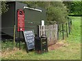 SS9700 : Closed ice cream stall, Killerton by Derek Harper