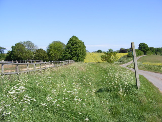 Footpath to Parham House