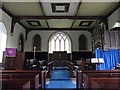 NZ0002 : Interior, St Mary's Church by Miss Steel