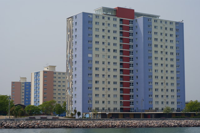 Flats at Gosport, Hampshire