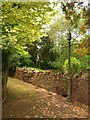SX9063 : Footpath, Two Parks, Torquay by Derek Harper