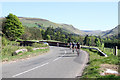 NN9209 : Peloton On The A823 by Martin Addison