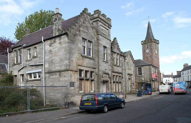 Carnegie Library And Kinross Town Hall