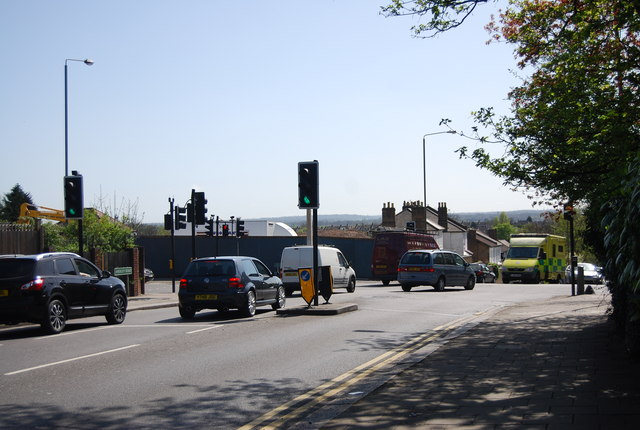 Junction of A213 and A214, Anerley