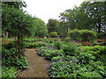 SD6911 : Walled garden, Moss Bank Park by Philip Platt