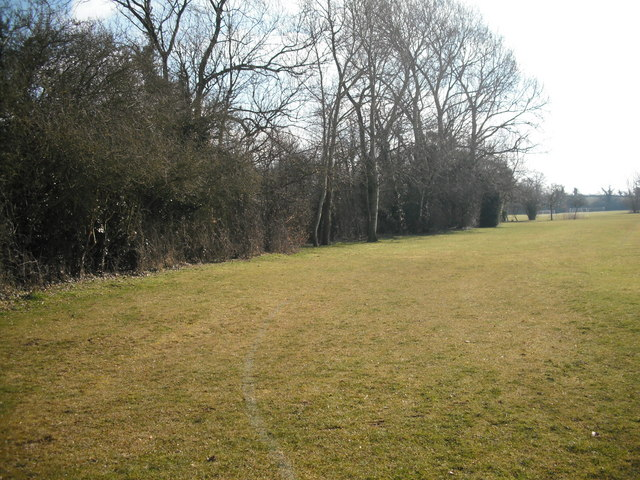 View of footpath WBB 14