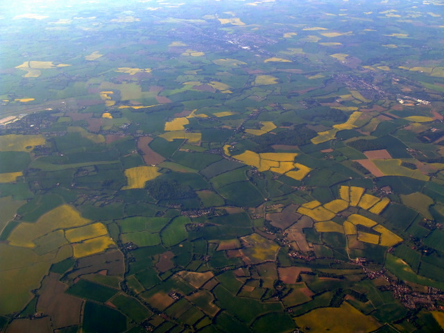 Somersham from the air