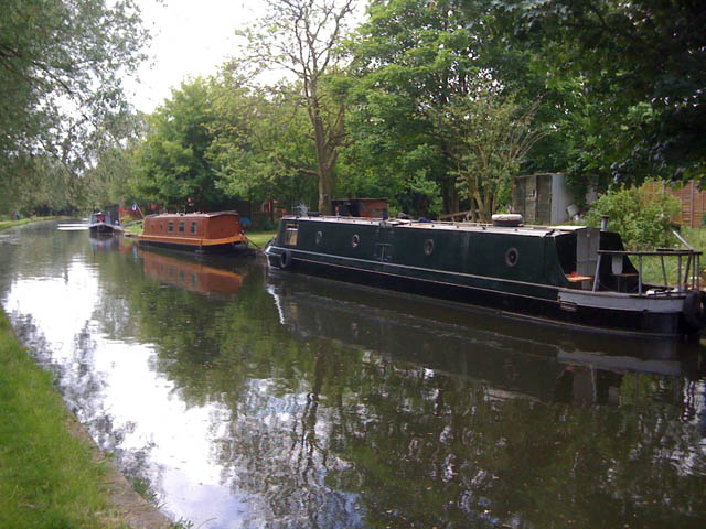 Private moorings, Erewash Canal