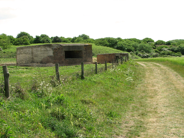 Observation post and gun emplacement at the Muckleburgh Collection