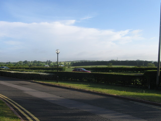 View north of Holiday Inn, Bromsgrove