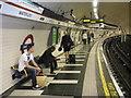 TQ3079 : Bakerloo line, north-bound platform, Waterloo : Week 19
