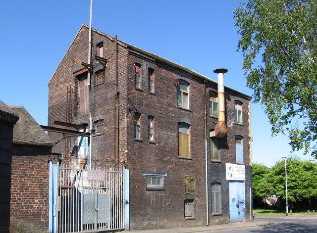 Longport - factory on Canal Street