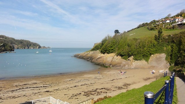 Combe Martin Beach And Bay Tony Atkin Cc By Sa 2 0
