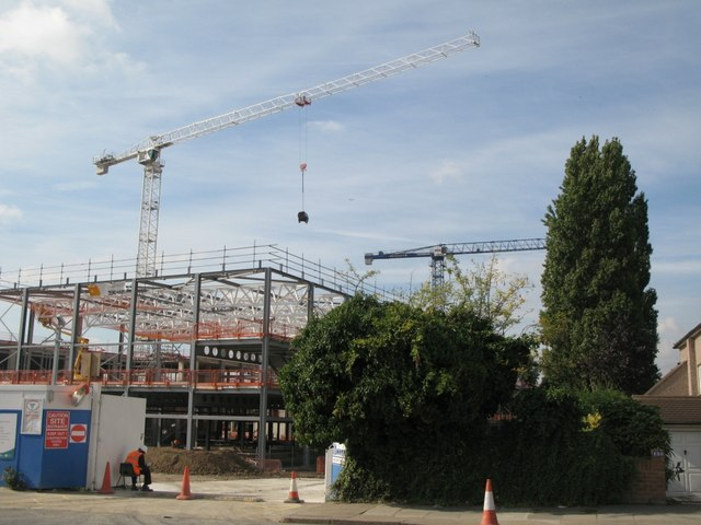 School building site west of Kidbrooke Park Road (A2213), SE3